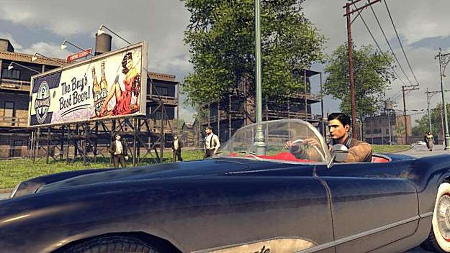 Mafia II has a careful eye for detail in its period settings in the 1940s and 1950s. Photo: 2K Games