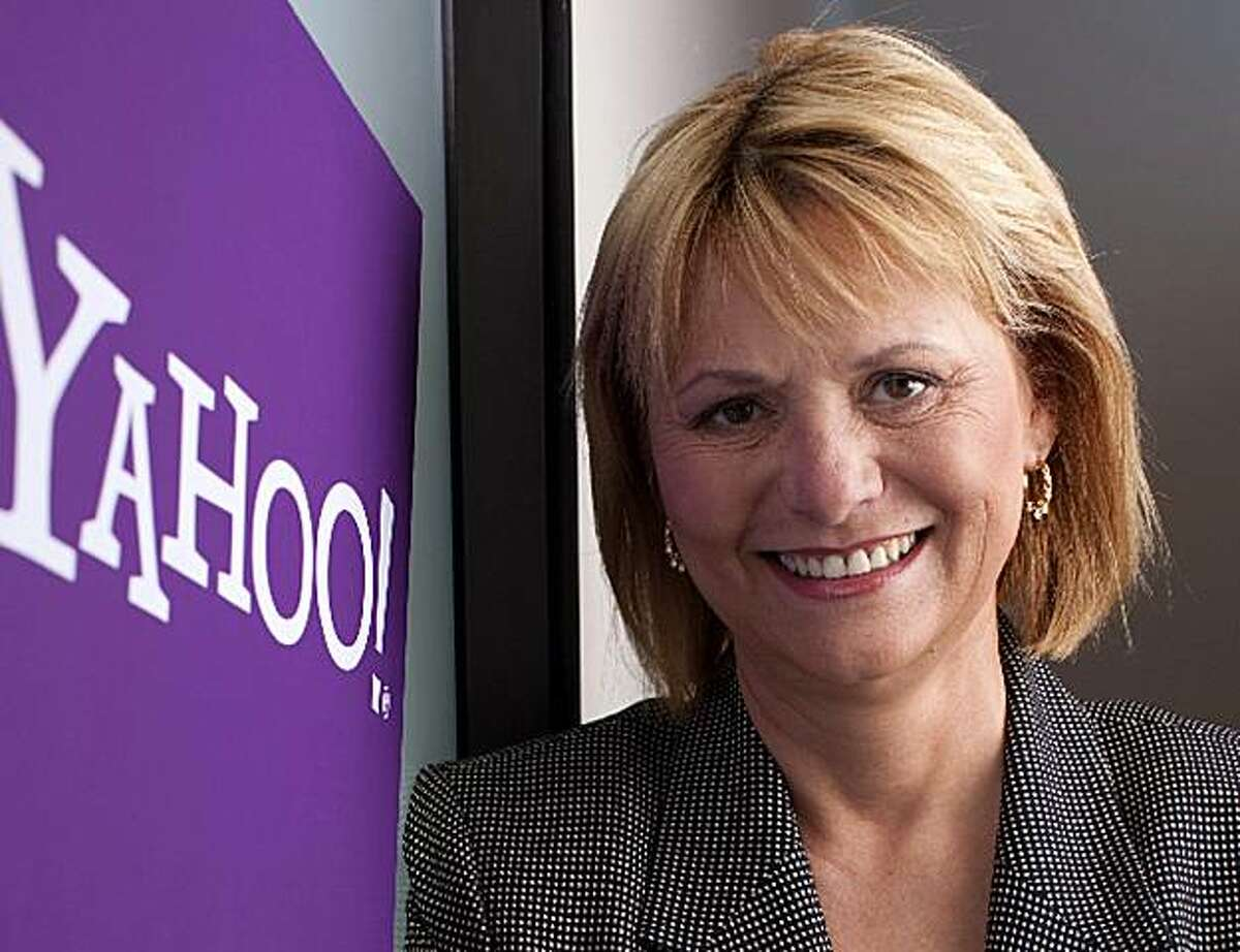 (NYT56) LOS ANGELES -- January 15, 2009 -- YAHOO-CEO -- Carol Bartz, the new chief of Yahoo, in Los Angeles in an undated photo. Bartz said of advice offered by analysts and armchair critics:
