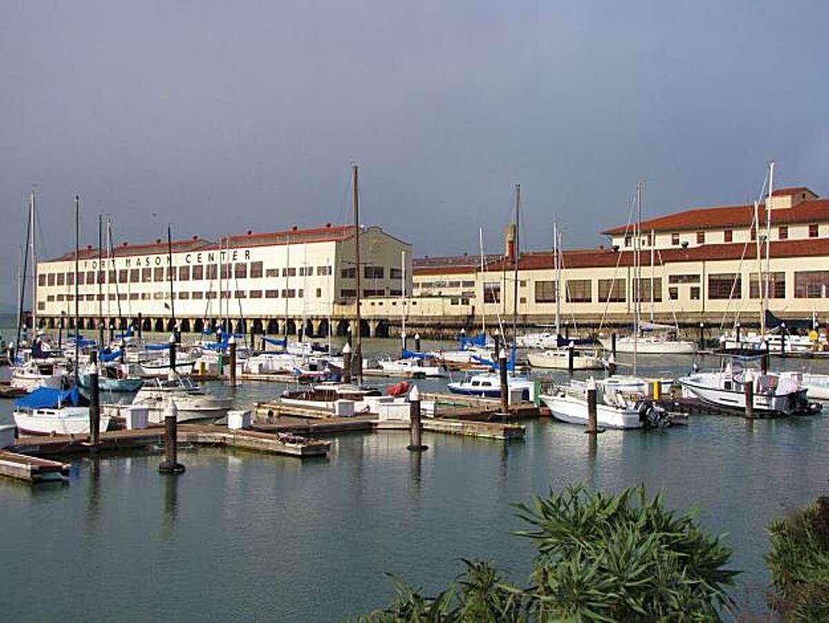 Location: Fort Mason Site: San Francisco Marina Yacht Harbor