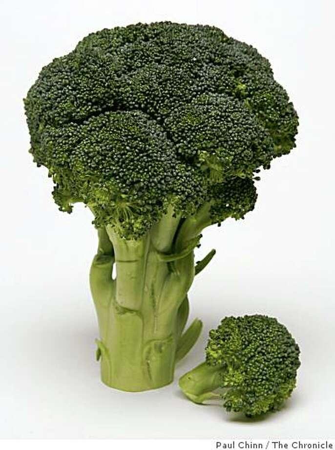 Broccoli in San Francisco, Calif. on Thursday, June 29, 2006. Photo: Paul Chinn, The Chronicle