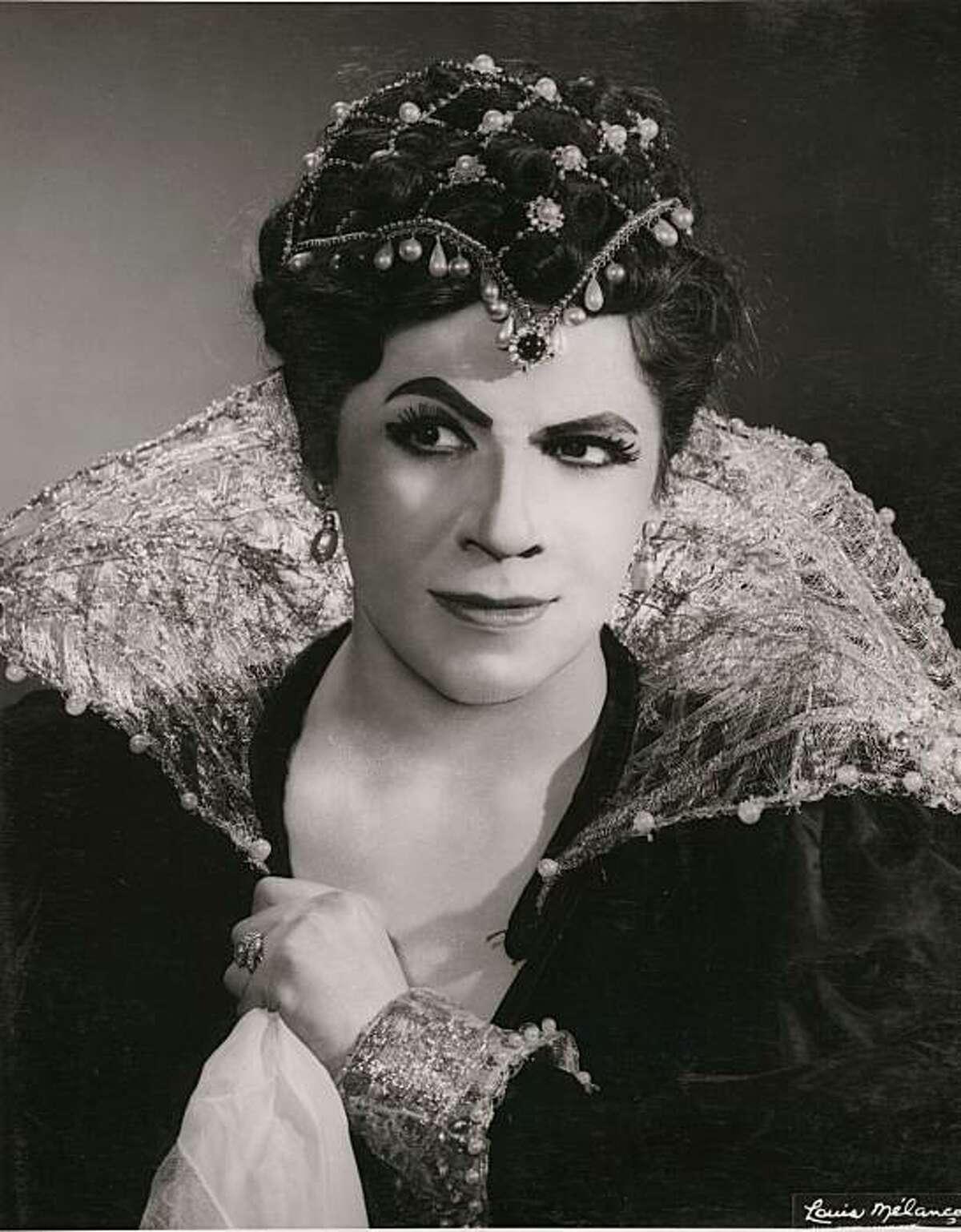 "Mezzo-soprano Irene Dalis as Princess Eboli in Verdi's ""Don Carlos"" at the Metropolitan Opera, 1957"