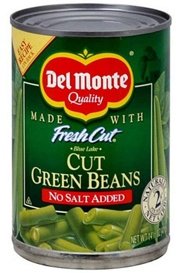 Can of Del Monte Beans Photo: Courtesy, Del Monte Foods