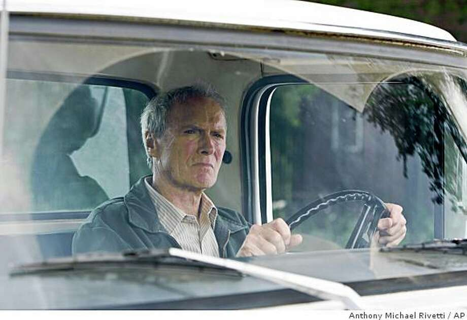 "In this image released by Warner Bros. Pictures, Clint Eastwood is shown in a scene from, ""Gran Torino."" Photo: Anthony Michael Rivetti, AP"
