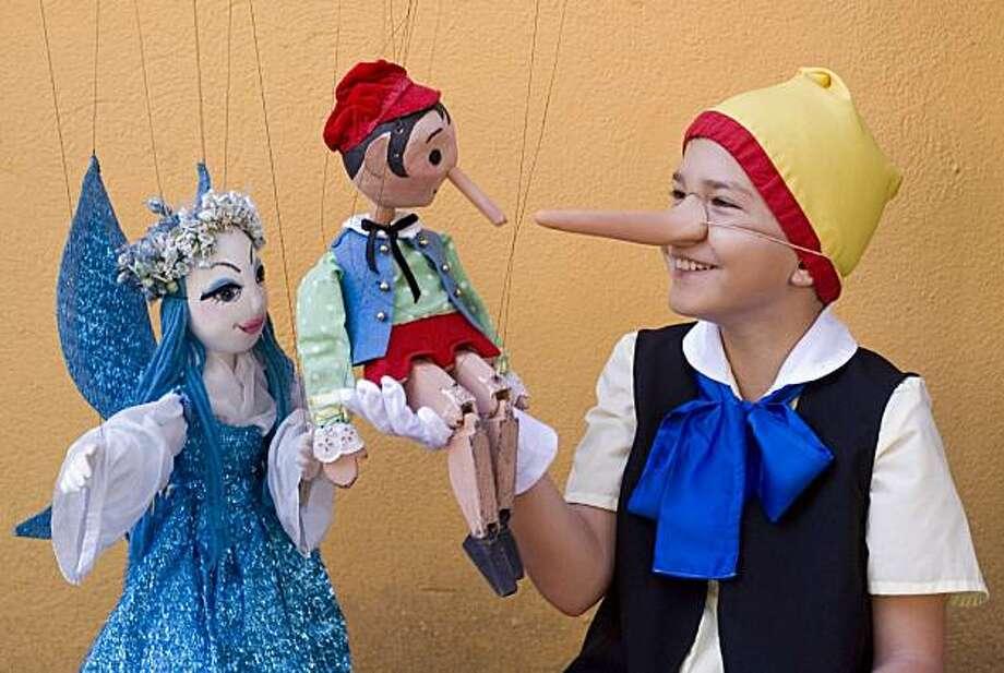 Puppet Fair Weekend at Children's Fairyland. Photo: Children's Fairyland
