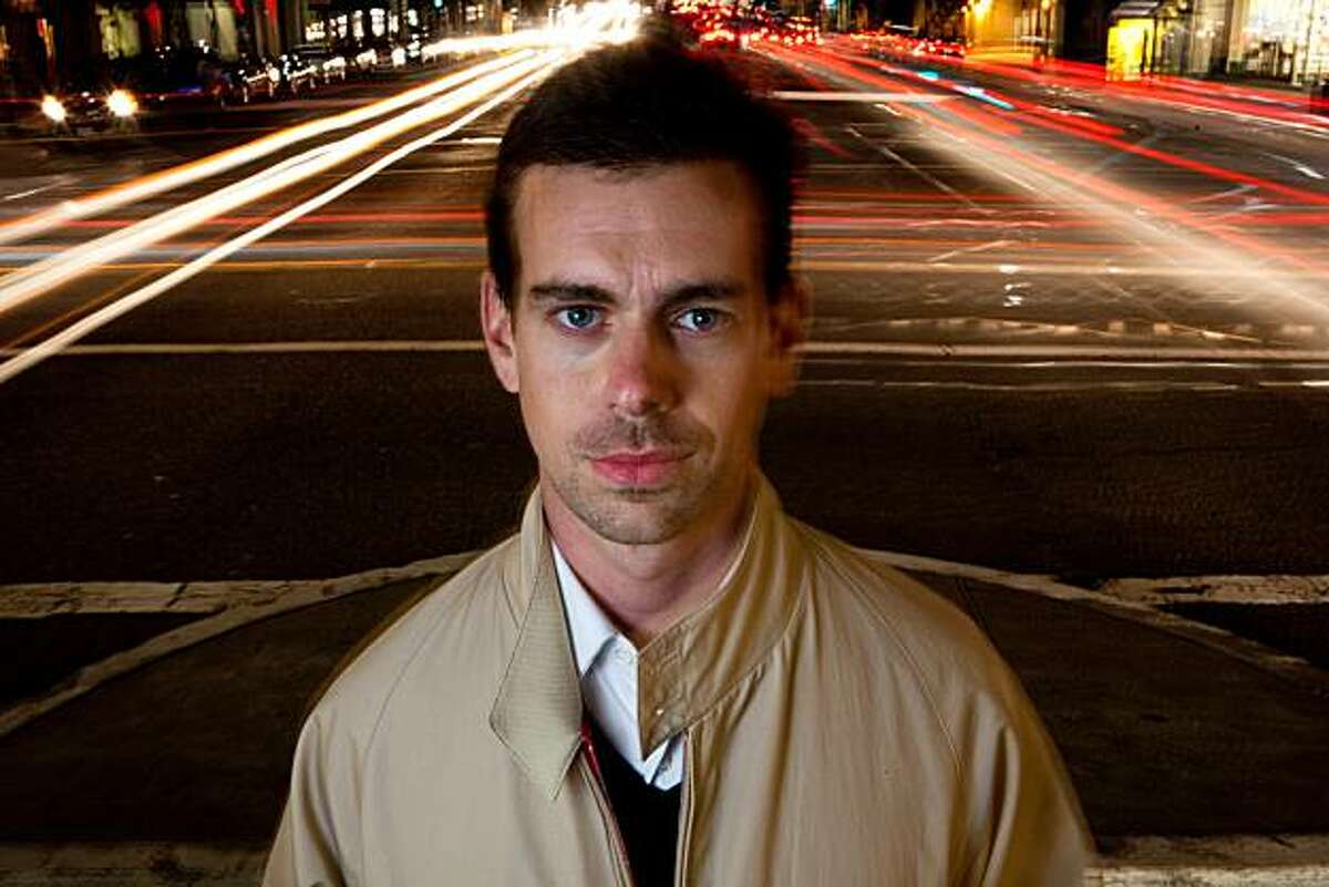 Twitter Co-Founder Jack Dorsey sets his sights on a new venture with the development of the Square Car Reader on Wednesday, August 18, 2010 in San Francisco, Calif.