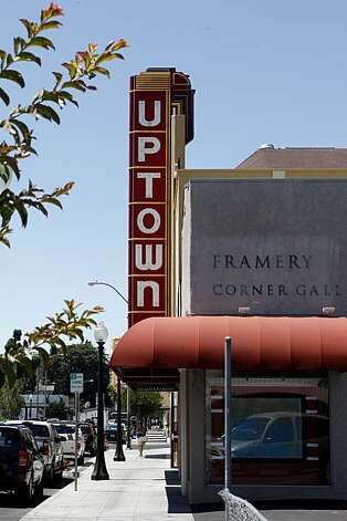 The Uptown theatre in downtown Napa now features live performances. Napa, Calif. is one of the most visited cities in the Bay Area and features fine restaurants, wineries, a renovated downtown and scenic vineyards. Photo: Brant Ward, The Chronicle