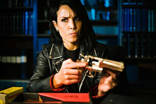 "Lisbeth Salander (Noomi Rapace) in ""The Girl Who Played With Fire."" Photo: Knut Koivisto, Music Box Films"