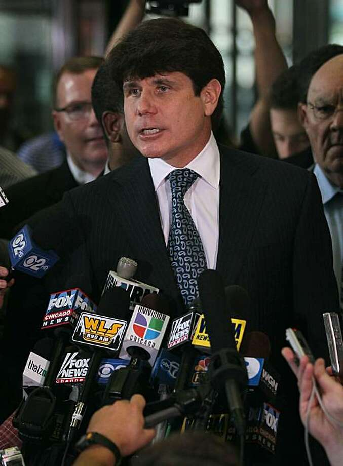 Blagojevich talks up defense before 2nd trial - SFGate