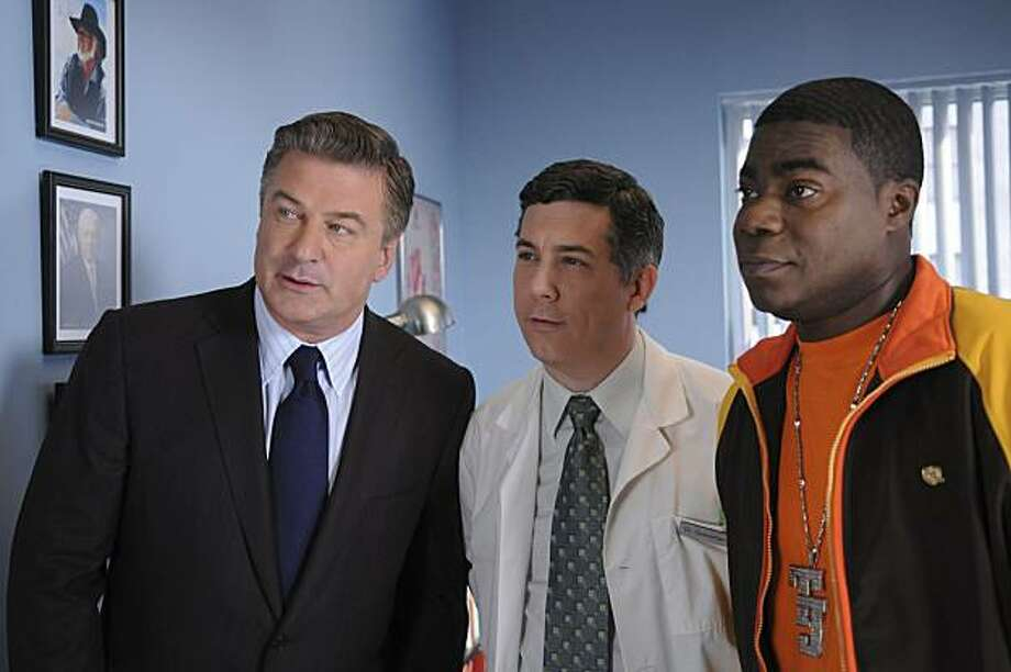 Chris Parnell (center) played the goofy Dr. Spaceman on '30 Rock.' Photo: Ali Goldstein, NBC
