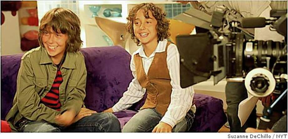 Nat (left) and Alex Wolff of the Naked Brothers Band 2007 Photo: Suzanne DeChillo, NYT