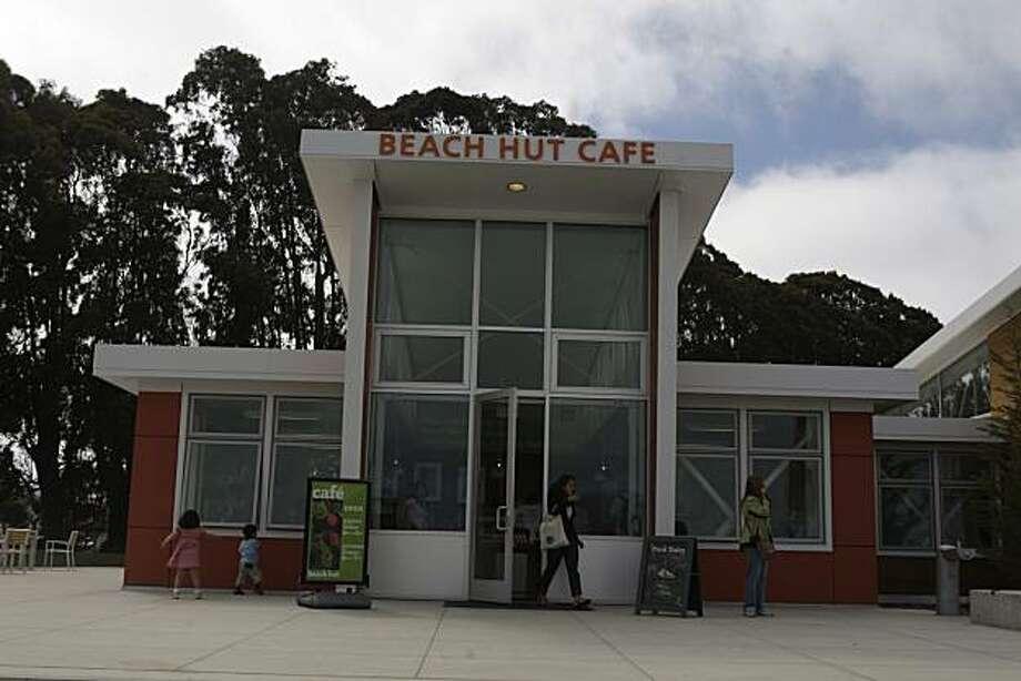 The Beach Hut Cafe anchors the temporary Crissy Field Center. Photo: Liz Hafalia