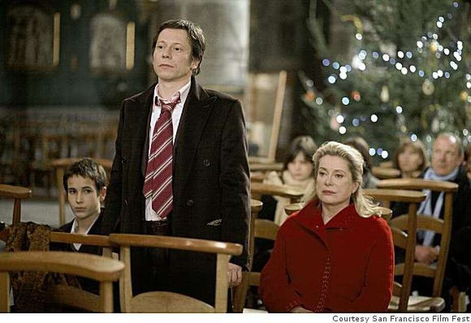 Mathieu Almaric and Catherine Deneuve play a son and mother at odds in Arnaud Desplechin?s sprawling family drama A Christmas Tale. Photo: Courtesy San Francisco Film Fest