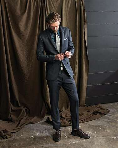 A fall 2010 men's look from J. Crew. Photo: J. Crew