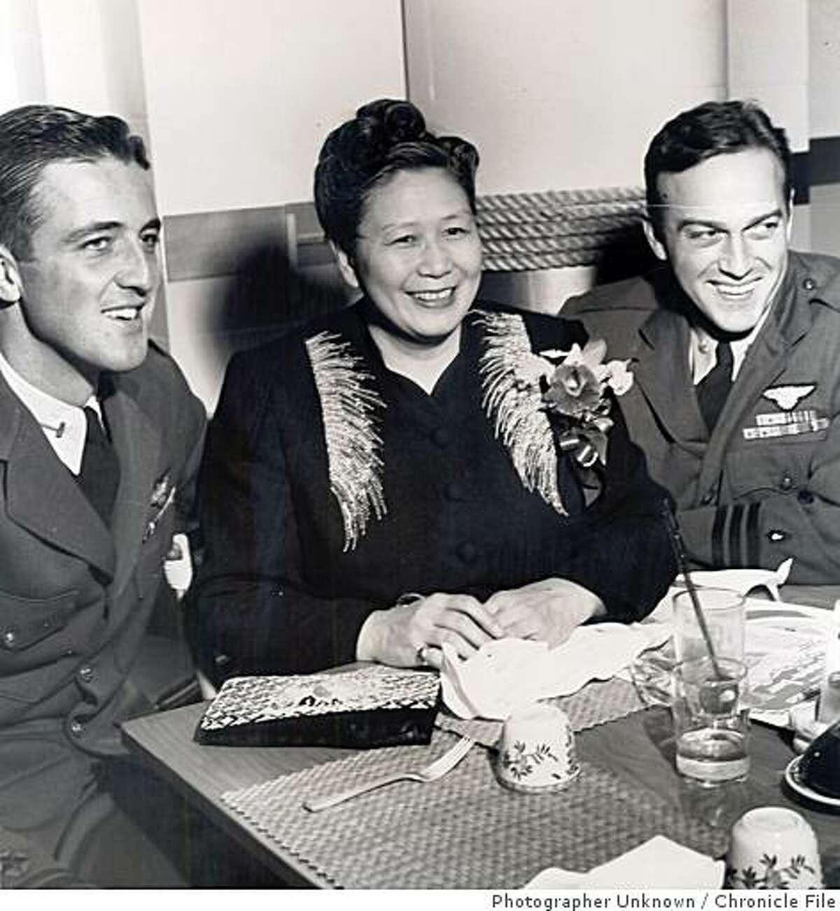 wayback04.jpg Dec. 12, 1945 - Dr. Margaret Jessie Chung, known as