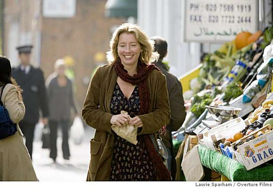 "Emma Thompson in ""Last Chance Harvey."" Photo: Laurie Sparham, Overture Films"