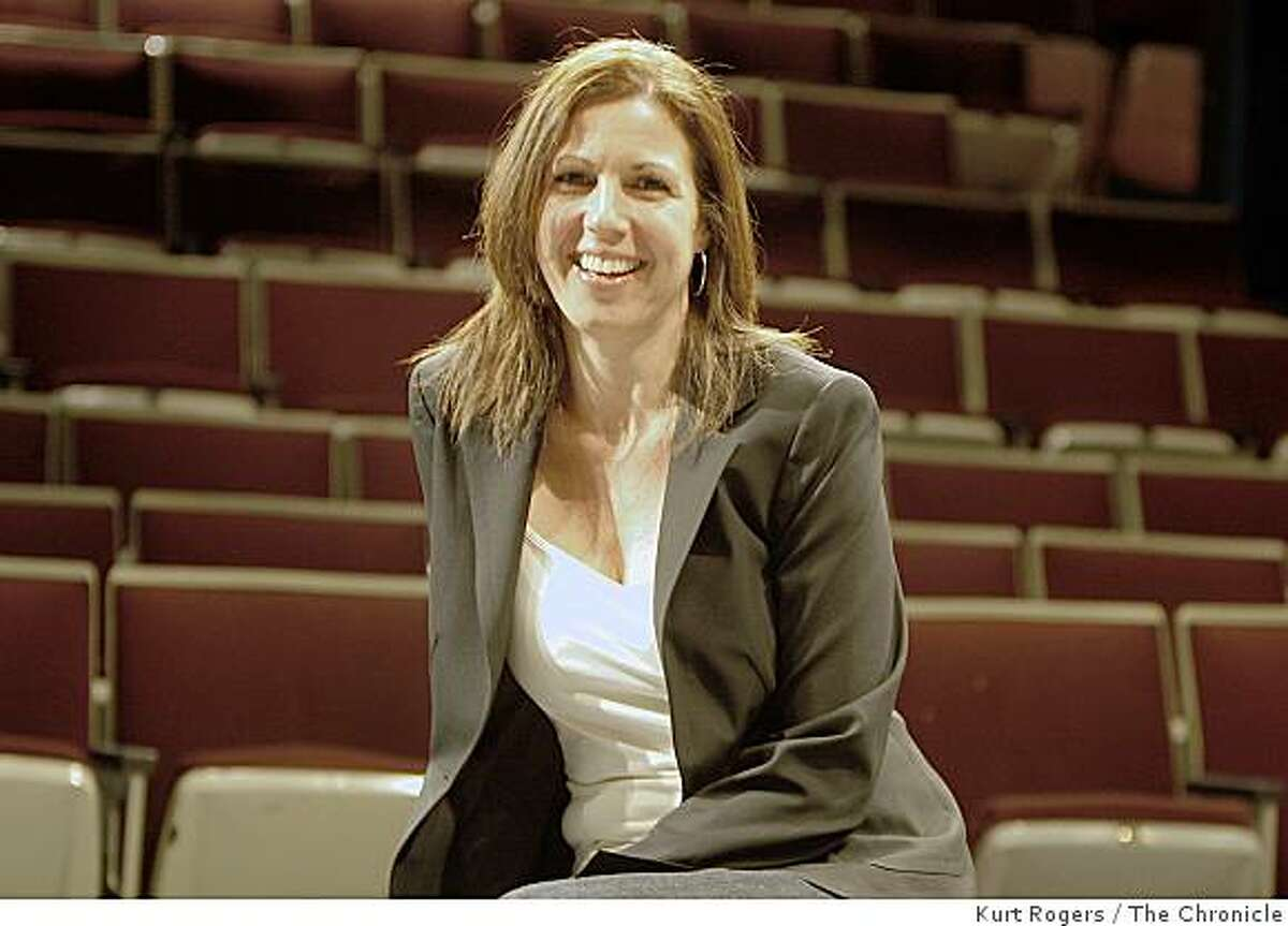Loretta Greco, the newly appointed Director of the Magic Theatre is photographed at Fort Mason Center on Tuesday, May 6, 2008 in San Francisco, Calif.