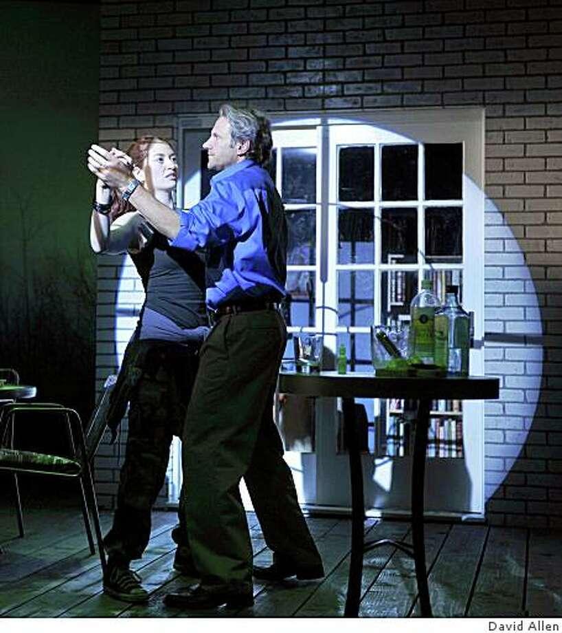 """Darren Bridgett and Marielle Heller  in """"Evie's Waltz"""" Photo: David Allen"""