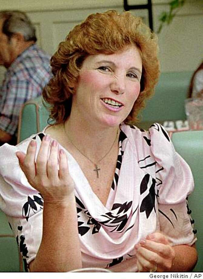 **FILE** In this July 13, 1993, file photo, Ellie Nesler is seen in Sonora, Calif.  Nesler, who sparked a national debate about vigilantism after killing her son's accused molester in a courtroom in 1993, has died of cancer. A spokeswoman for the UC Davis Medical Center in Sacramento says Nesler died there Friday, Dec. 26, 2008. The 56-year-old had battled breast cancer since 1994. (AP Photo/George Nikitin, file) Photo: George Nikitin, AP