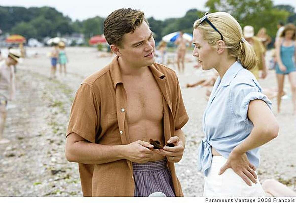Kate Winslet and Leonardo DiCaprio in