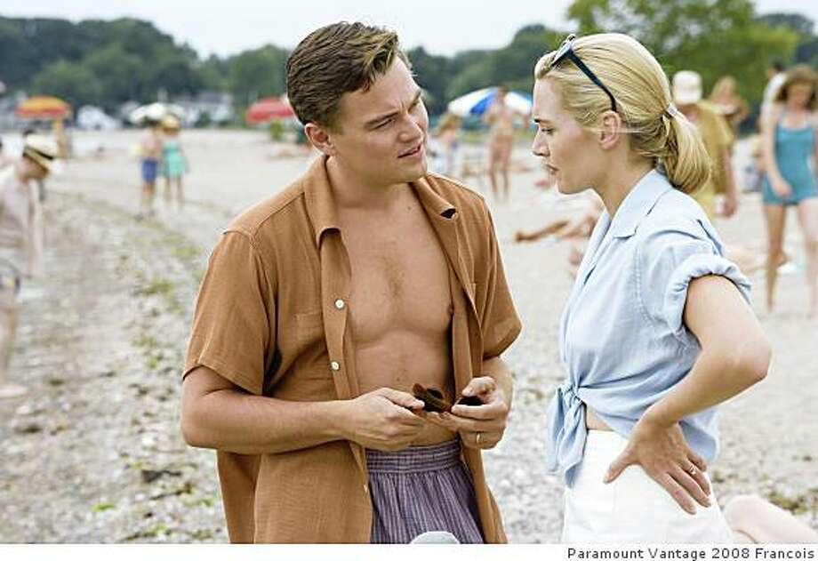 "Kate Winslet and Leonardo DiCaprio in ""Revolutionary Road."" Photo: Paramount Vantage 2008 Francois"