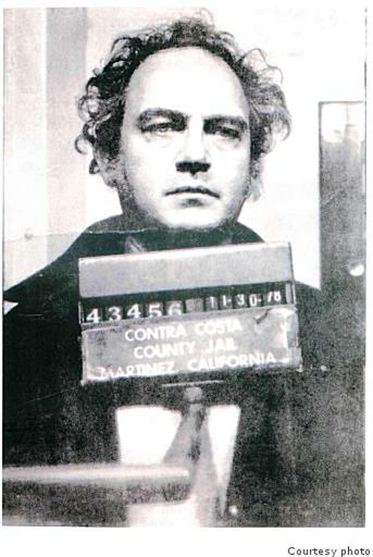 Darryl Kemp, now 67, in Nov. 30 1978 booking photo when he was arrested for prowling in Walnut Creek. (ran in 2003)