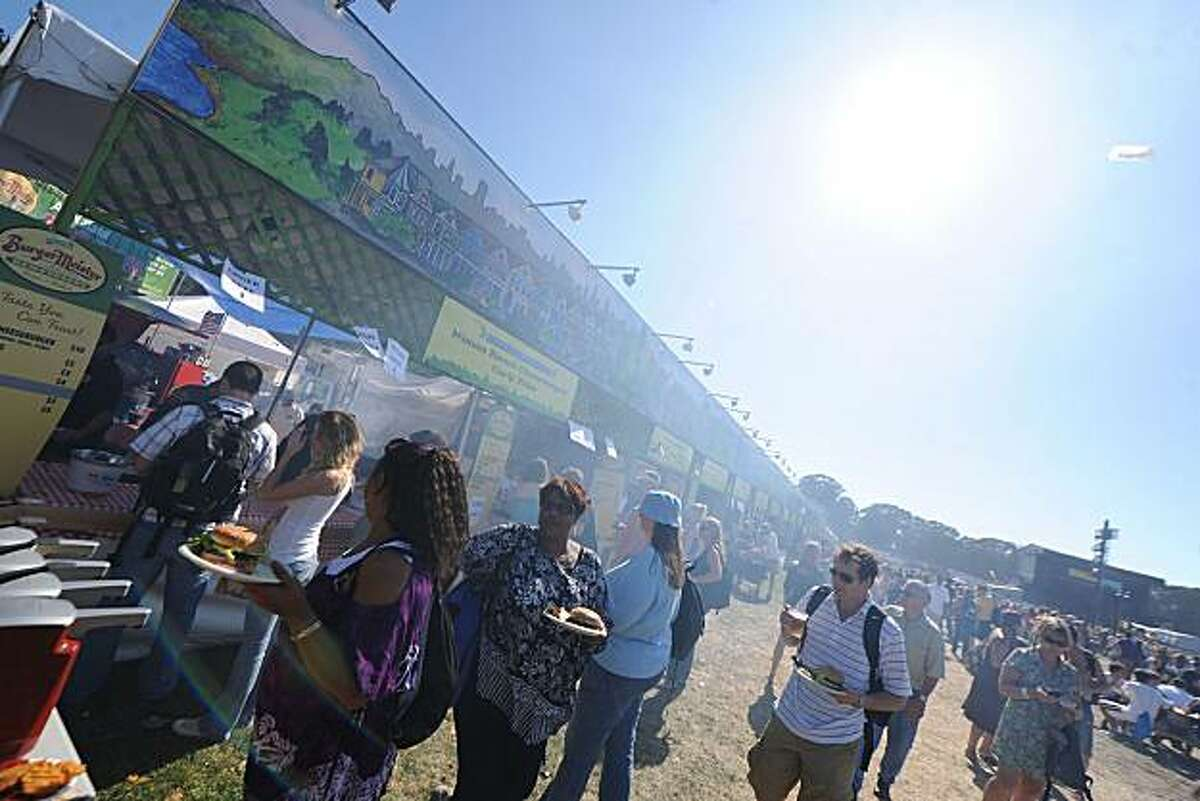 Vendor from last year's Outside Lands Festival