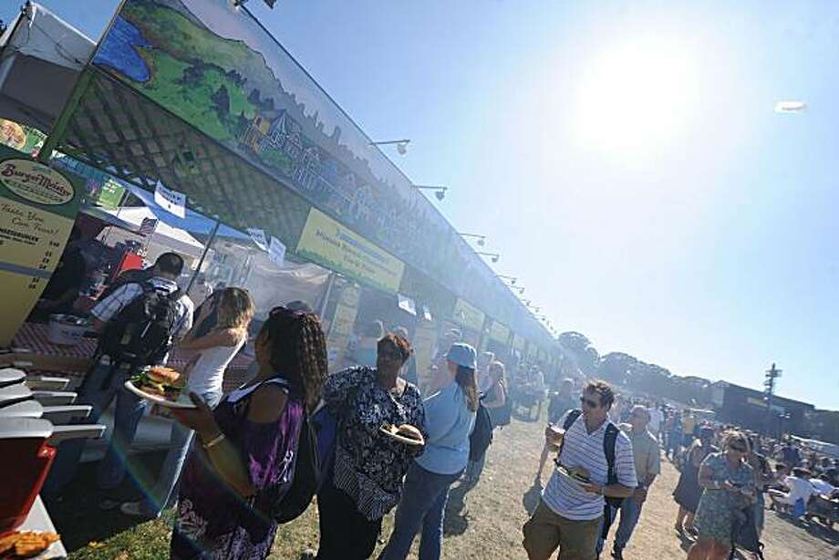 Vendor from last year's Outside Lands Festival Photo: Film Magic