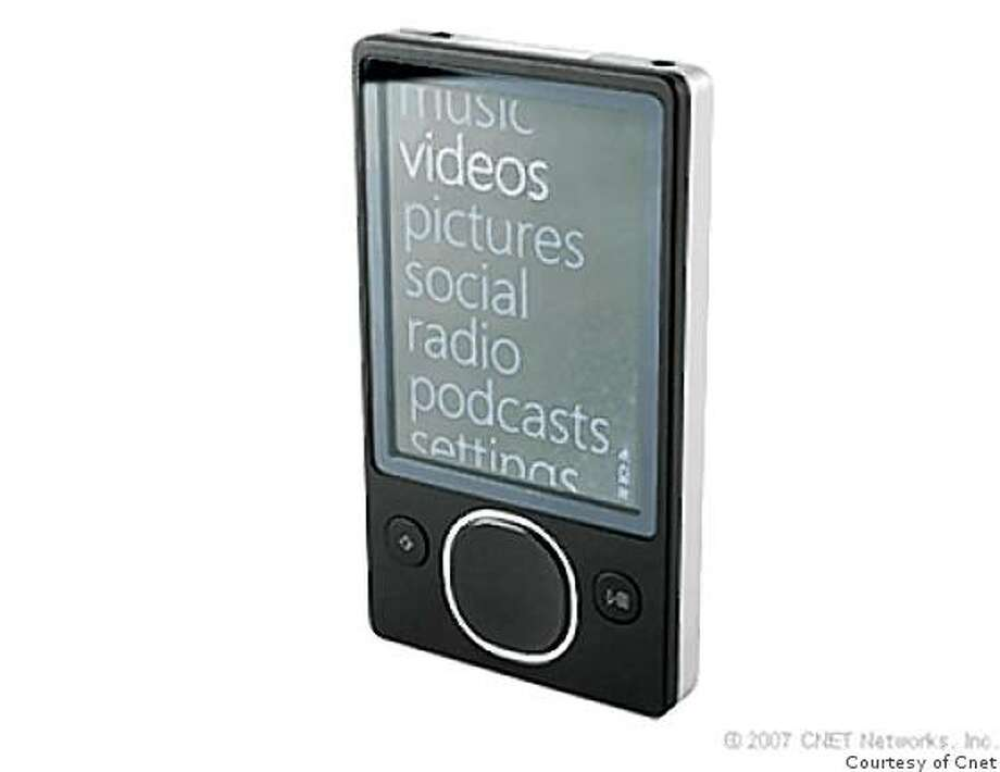 CNET_MP3 Zune (second generation, 80GB) Photo: Courtesy Of Cnet