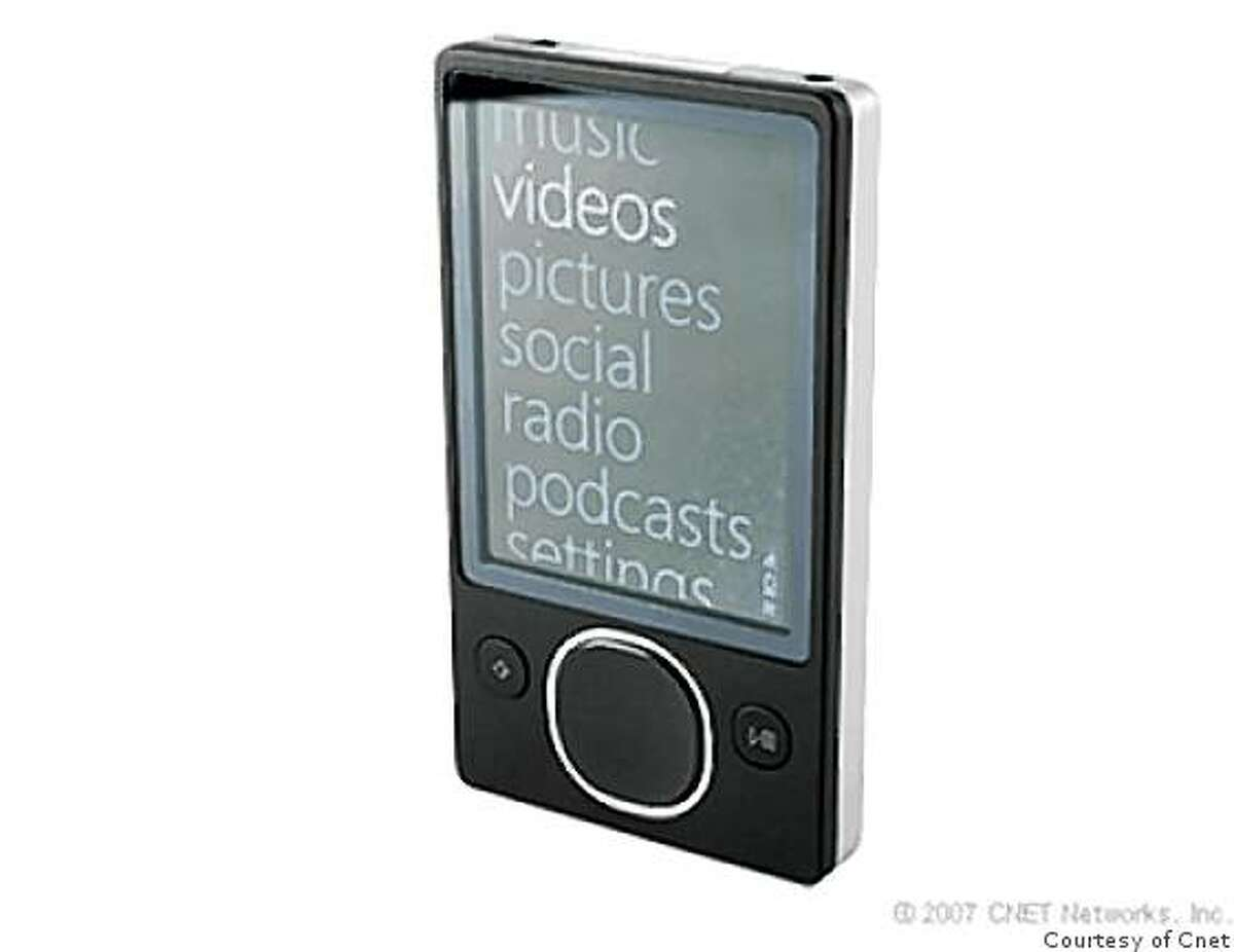 CNET_MP3 Zune (second generation, 80GB)