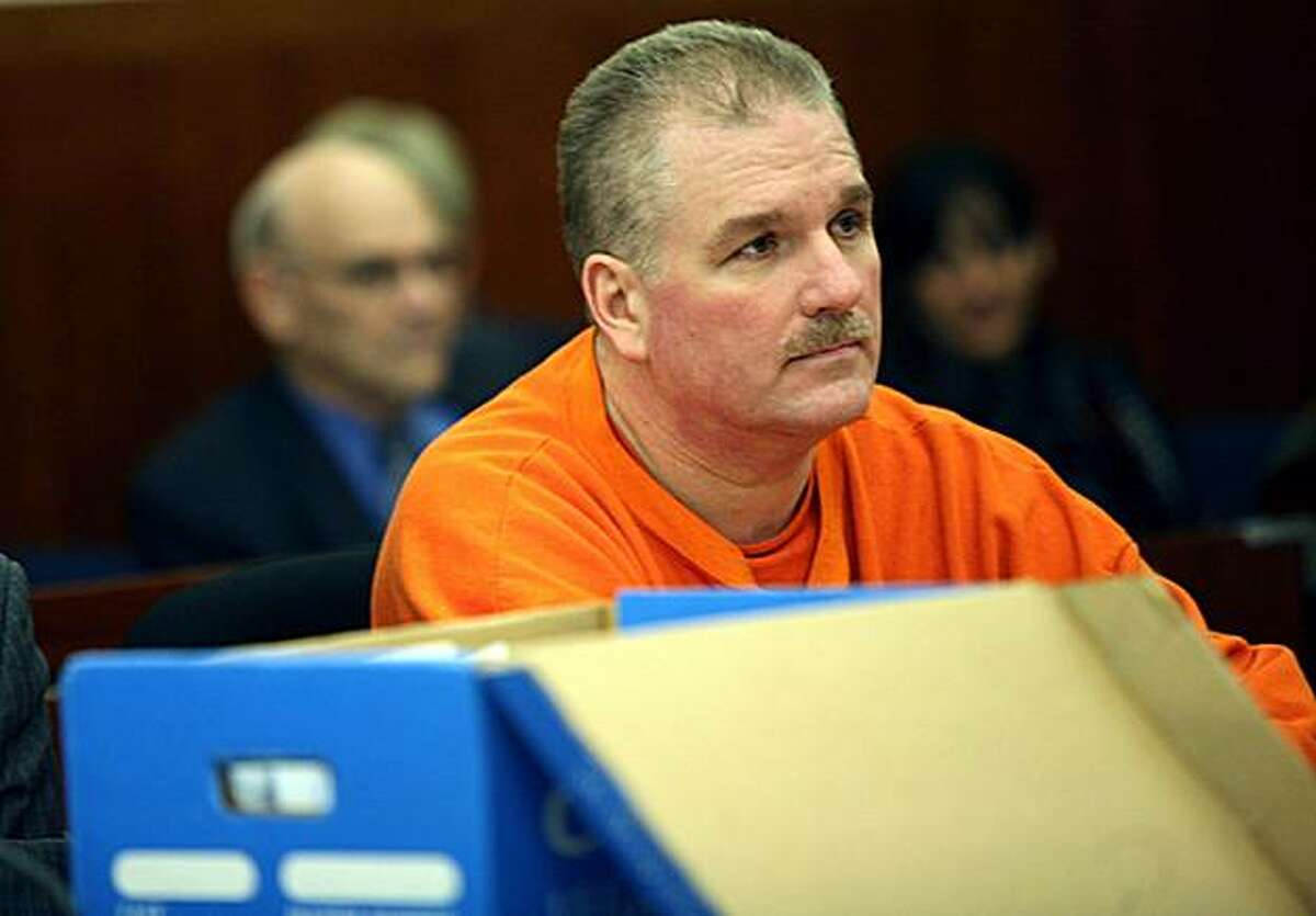 Terry Childs, 43, former San Francisco Department of Telecommunications and Information Services network engineer charged with tampering with the city's computer network, sits in San Francisco Superior Court on Monday, Dec. 15, 2008 in San Francisco. (AP Photo/Cindy Chew, Pool)