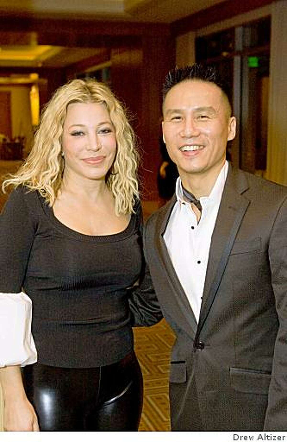 AmFar's 10th annual San Francisco Gala was held Nov. 15 at the Four Seasons. Pop star Taylor Dayne (left) performed and Tony Award-winning actor B.D. Wong emceed.Taylor Dayne, B.D. Wong