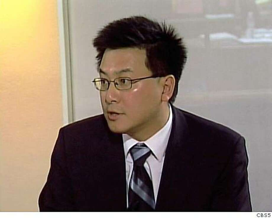 John Chiang, Democratic candidate for state controller, met with The Chronicle's Editorial Board on Tuesday, Oct. 10, in a debate that was livecast on CBS5.com Photo: Cbs5