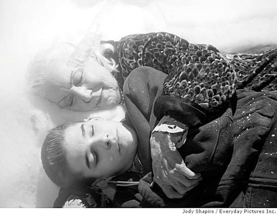 "Ann Savage as Mother and Wesley Cade as Ross Maddin in ""My Winnipeg,"" directed by Guy Maddin. Photo: Jody Shapiro, Everyday Pictures Inc."