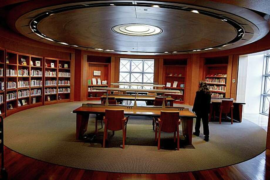 One of the places that people can go to research new jobs is on the 4th floor of the Maine library where they have a whole room decided to books on jobs. . on Wednesday  Dec 24,  2008 in San Francisco , Calif Photo: Kurt Rogers, The Chronicle