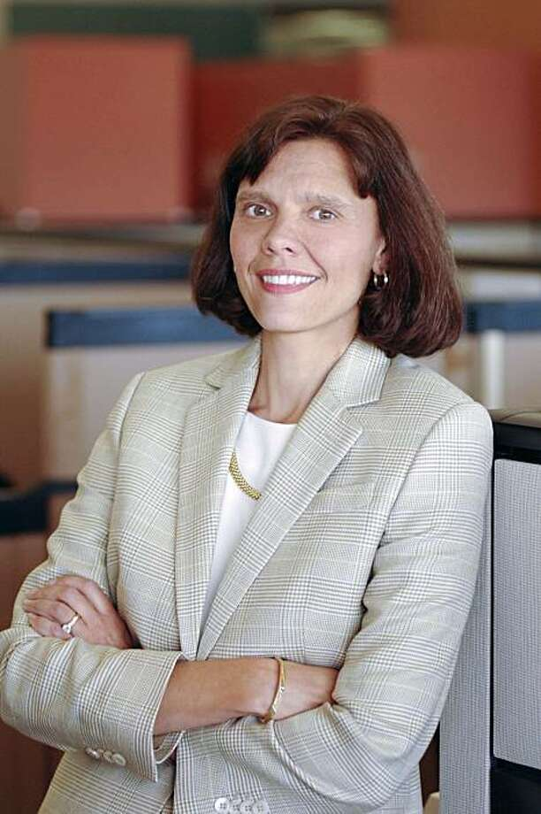 Cathie Lesjak, interim chief executive officer of Hewlett-Packard Co., poses for a portrait on Sept 15, 2006. HP's Mark Hurd resigned as chief executive officer after an investigation found he had a personal relationship with a contractor who received numerous inappropriate payments from the company. Chief Financial Officer Lesjak, 51, will take over as interim CEO. Source: Bite Communications via Bloomberg  EDITOR'S NOTE: NO SALES. EDITORIAL USE ONLY Photo: Via Bloomberg