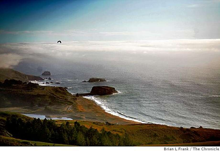 The Jenner coast north of Bodega Bay is one of the spots along the California coast that has been studied for potential oil and gas exploration. Photo: Brian L Frank, The Chronicle