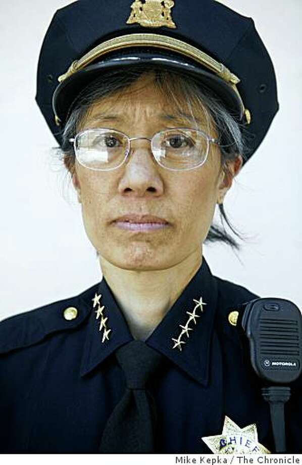 San Francisco Police Chief Heather Fong poses for a portrait on 3rd Street in the Bayview District on Thursday August 14, 2008 in San Francisco Calif. Photo: Mike Kepka, The Chronicle