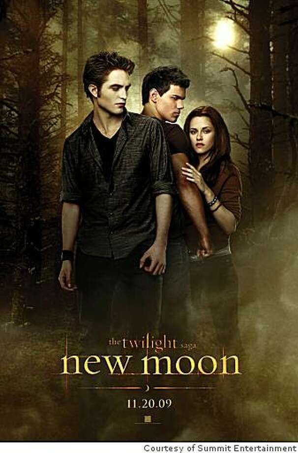 "The poster for New Moon, the second movie in the ""Twilight "" series has been released and here it is Photo: Courtesy Of Summit Entertainment"