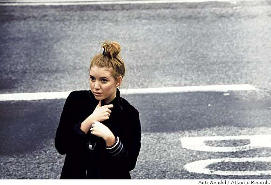 Swedish pop singer Lykke Li in 2008. Photo: Anti Wendel, Atlantic Records