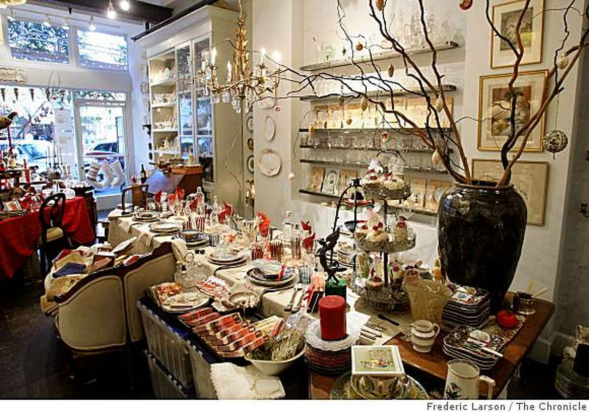 Period George is a gift shop located at 7 Clement Street in San Francisco Cailf., on December 17. 2008.