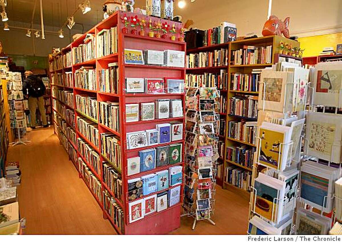 Thidwick Book Store is located at 11 Clement Street in San Francisco Cailf., on December 17. 2008.