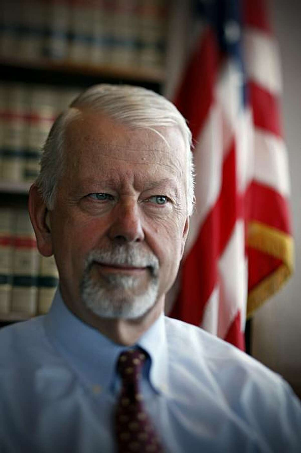 Judge Vaughn R. Walker is seen in his chambers at the Phillip Burton Federal Building in San Francisco, Calif., on Wednesday, July 8, 2009. Walker is the U.S. Chief Judge for the Northern California district.