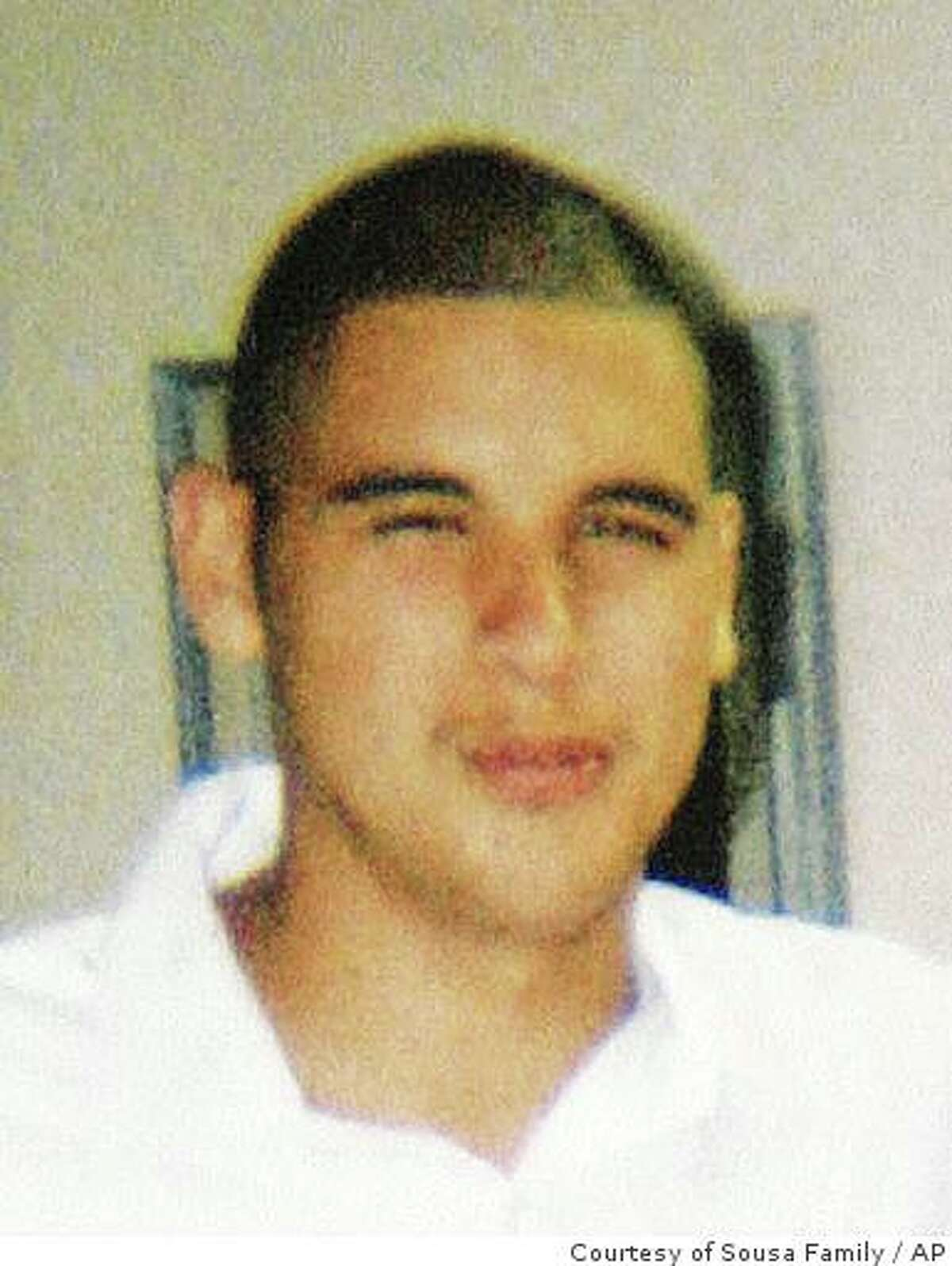 This undated handout photo released by the Sousa family on Wednesday Dec. 26, 2007 shows Carlos Sousa Jr. in San Jose, Calif. Carlos Sousa Jr., 17, of San Jose, Calif. was killed by a tiger that escaped at the San Francisco Zoo on Christmas Day Tuesday Dec, 25, 2007. (AP Photo/Courtesy of the Sousa Family) ** NO SALES **
