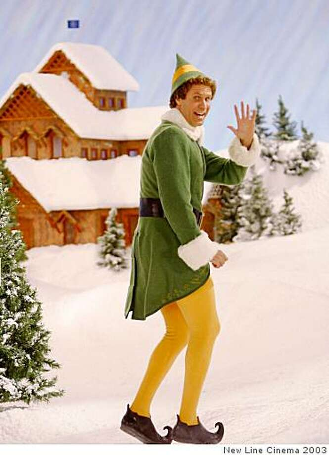 "Will Farrell in ""Elf."" Photo: New Line Cinema 2003"