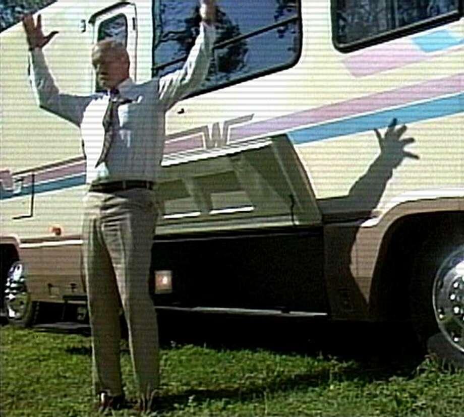 "Jack Rebney in, ""Winnebago Man."" Photo: Kino International"
