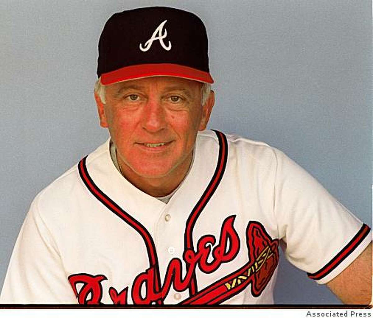 FILE--This is a 1990 file photo of Phil Niekro. The 1997 Hall of Fame voting results will be announced Monday, Jan. 6, 1997. (AP Photo)