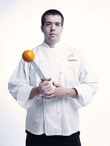 RISINGSTARS_HOFFMAN02_JOHNLEEPICTURES.JPG Perry Hoffman, chef at Etoile in Yountville.  Photo taken in the Chronicle photo studio. By JOHN LEE/SPECIAL TO THE CHRONICLE Photo: John Lee, The Chronicle