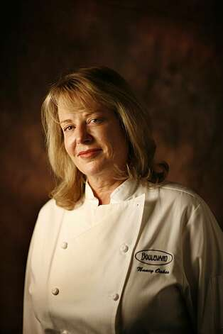 Nancy Oakes, chef at Boulevard in San Francisco, Calif. on June 18, 2008.  Photo by Craig Lee / The Chronicle Photo: Craig Lee, The Chronicle