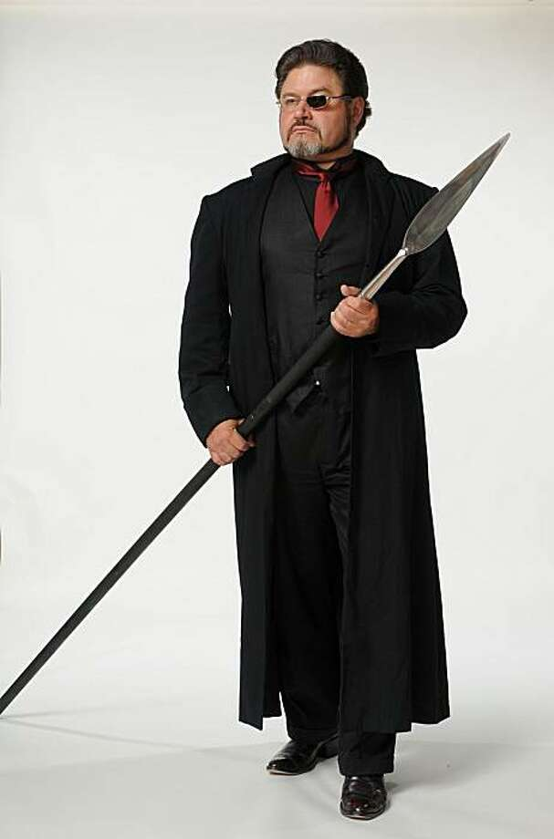 "Baritone Richard Paul Fink as Wotan in ""Legend of the Ring"" at Berkeley Opera Photo: Eliot Khuner"