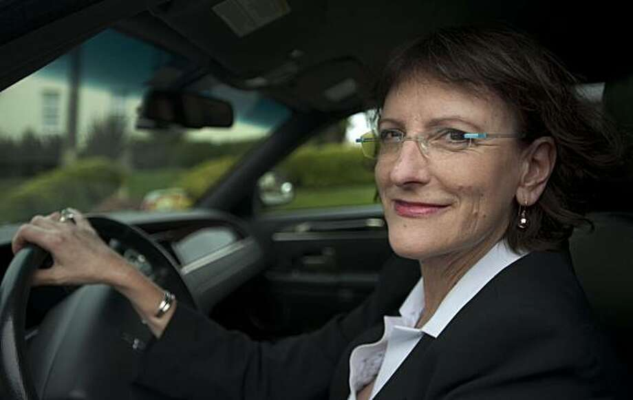 Meryl Kelso is chauffeur and owner/operator of Dash Limousine & Sedan Service and is pictured in San Francisco, Calif., on Friday, July 23, 2010. Photo: Chad Ziemendorf, The Chronicle